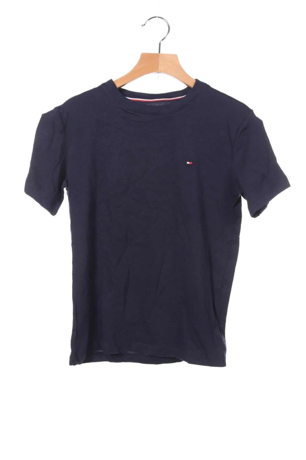 Παιδικό μπλουζάκι Tommy Hilfiger, Μέγεθος 8-9y/ 134-140 εκ., Χρώμα Μπλέ, Βαμβάκι, Τιμή 14,84€