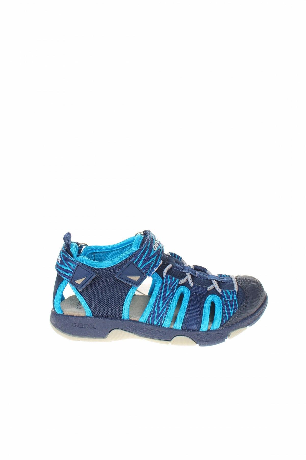 Παιδικά παπούτσια Geox, Μέγεθος 27, Χρώμα Μπλέ, Κλωστοϋφαντουργικά προϊόντα, Τιμή 27,53€