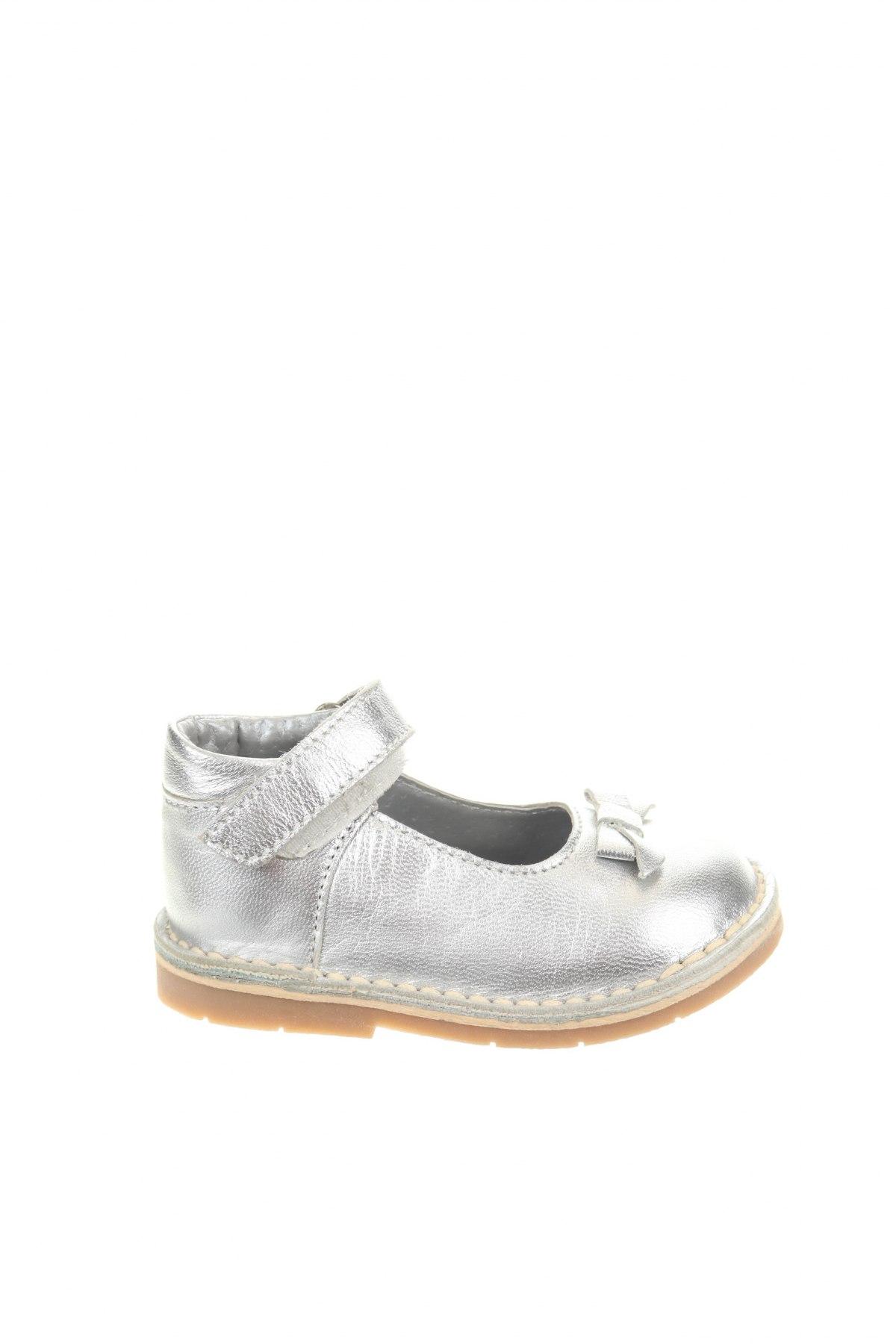 Παιδικά παπούτσια Saxo Blues, Μέγεθος 20, Χρώμα Ασημί, Γνήσιο δέρμα, Τιμή 19,55€