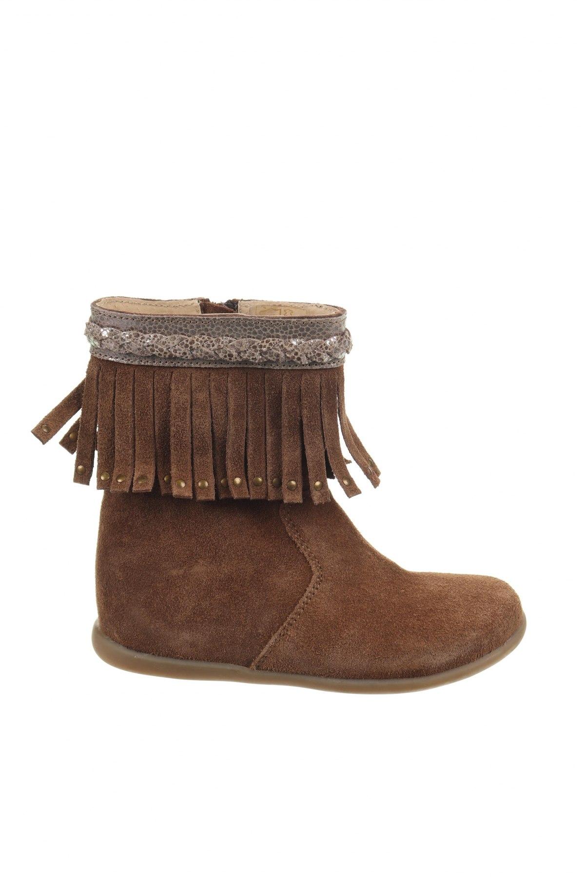 Παιδικά παπούτσια Saxo Blues, Μέγεθος 27, Χρώμα Καφέ, Φυσικό σουέτ, Τιμή 38,27€