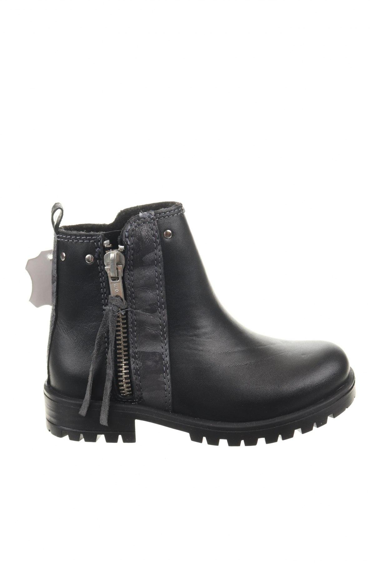 Παιδικά παπούτσια Saxo Blues, Μέγεθος 25, Χρώμα Μαύρο, Γνήσιο δέρμα, Τιμή 12,99€