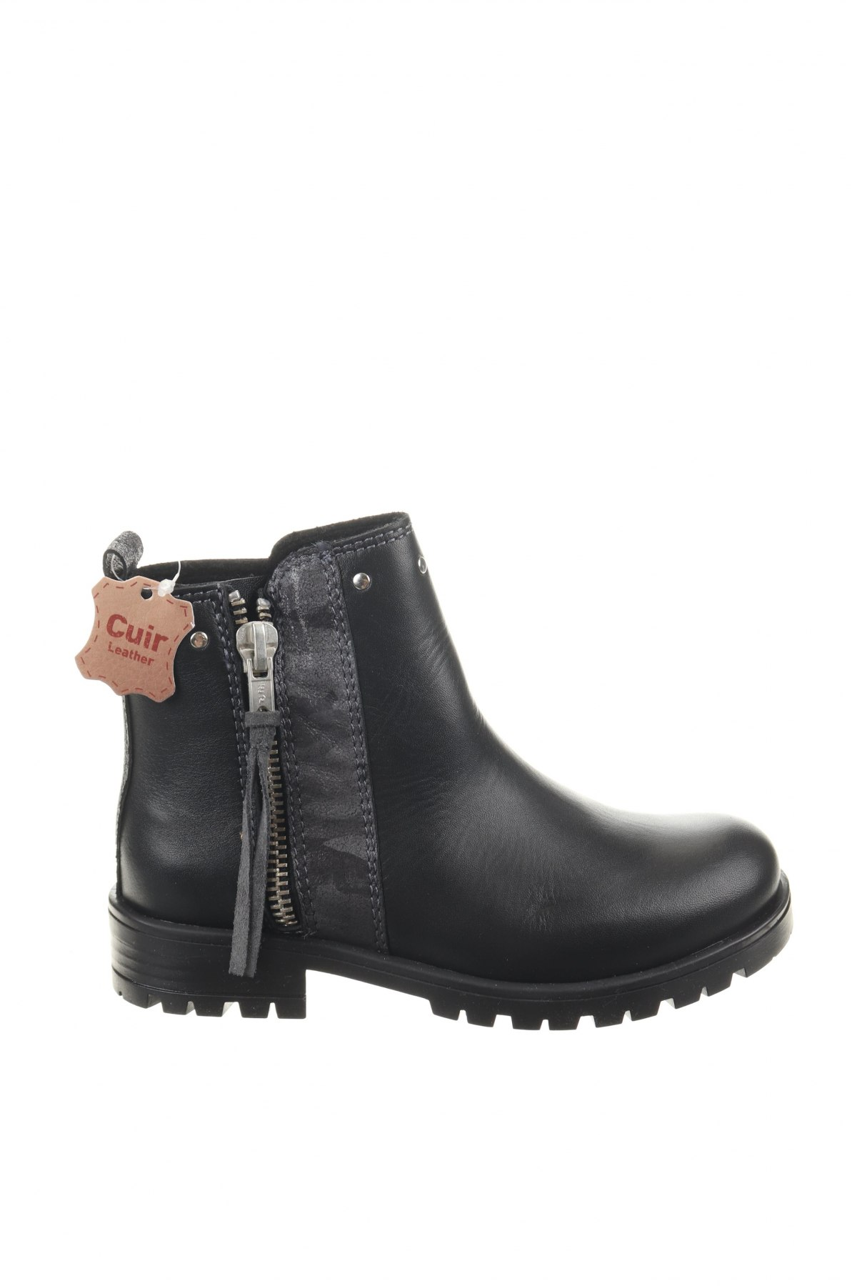 Παιδικά παπούτσια Saxo Blues, Μέγεθος 28, Χρώμα Μαύρο, Γνήσιο δέρμα, Τιμή 10,39€