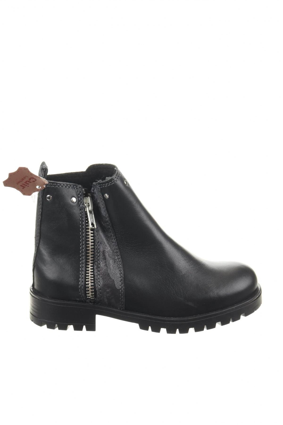 Παιδικά παπούτσια Saxo Blues, Μέγεθος 29, Χρώμα Μαύρο, Γνήσιο δέρμα, Τιμή 10,39€
