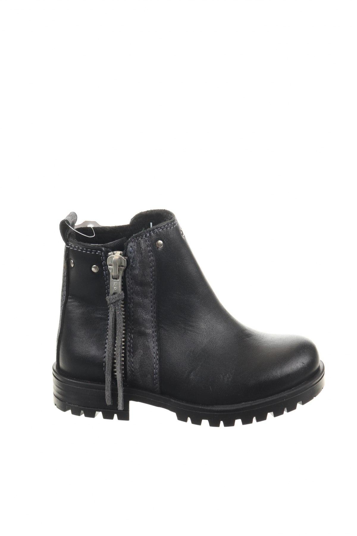 Παιδικά παπούτσια Saxo Blues, Μέγεθος 24, Χρώμα Μαύρο, Γνήσιο δέρμα, Τιμή 10,39€