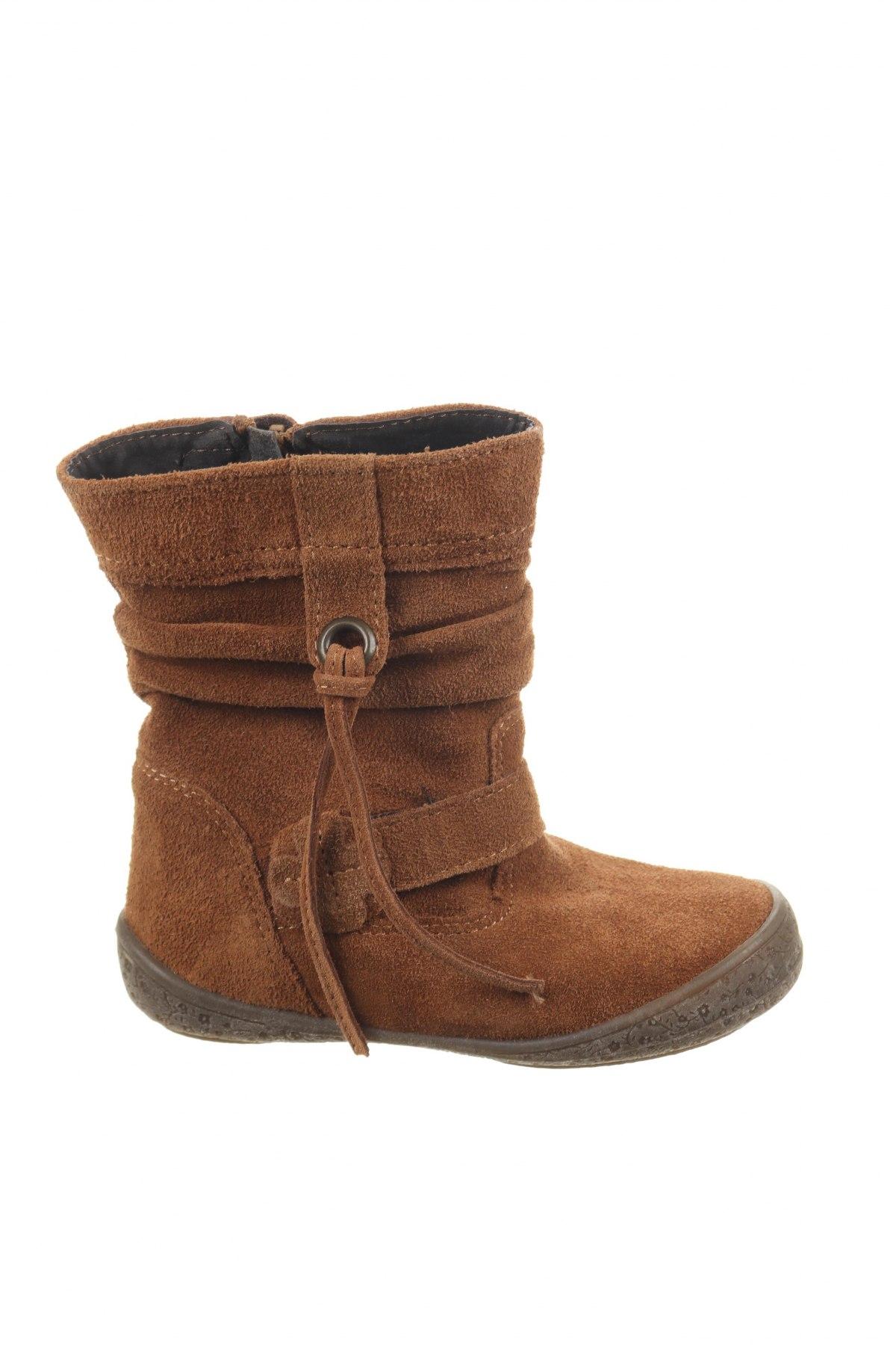 Παιδικά παπούτσια Saxo Blues, Μέγεθος 26, Χρώμα Καφέ, Γνήσιο δέρμα, Τιμή 18,62€