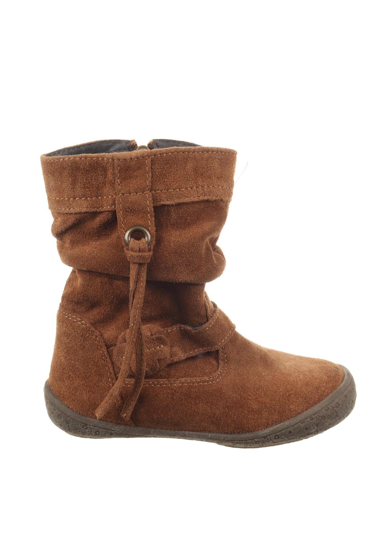 Παιδικά παπούτσια Saxo Blues, Μέγεθος 27, Χρώμα Καφέ, Φυσικό σουέτ, Τιμή 18,62€