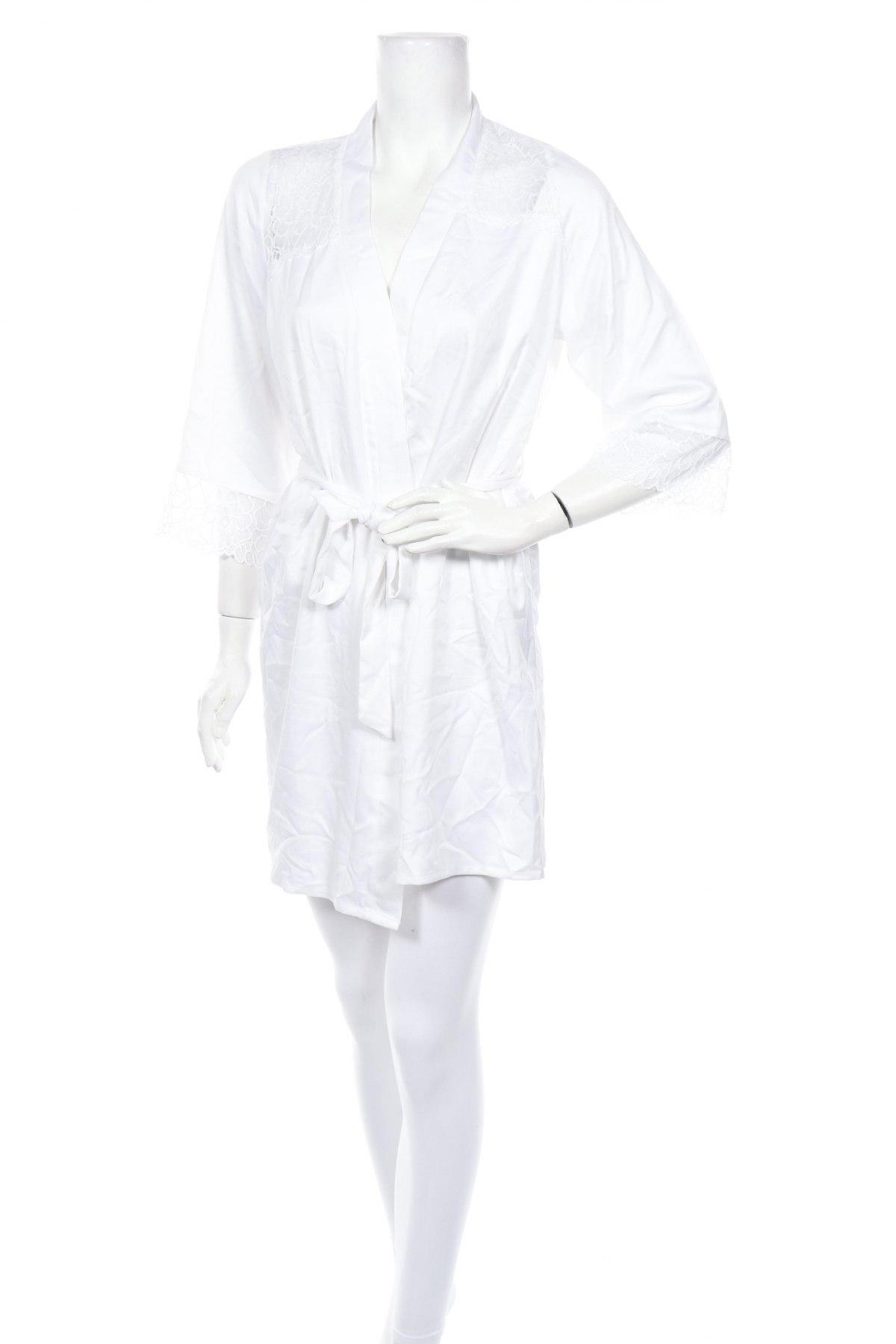 Халат Anna Field, Размер XS, Цвят Бял, Полиестер, Цена 32,76лв.