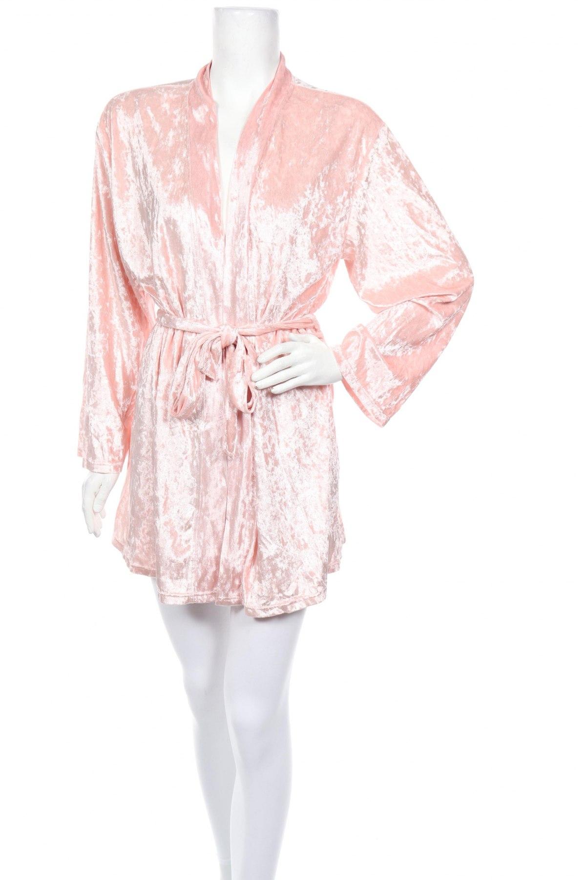 Халат Mint & Berry, Размер S, Цвят Розов, Полиестер, Цена 40,95лв.