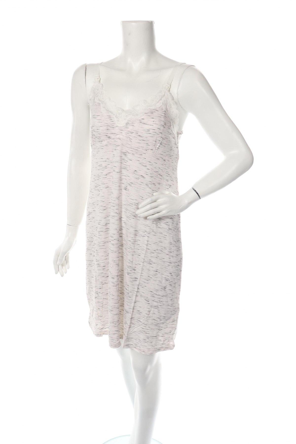 Пижама Women'secret Maternity, Размер M, Цвят Сив, 95% вискоза, 3% еластан, 2% полиестер, Цена 35,91лв.