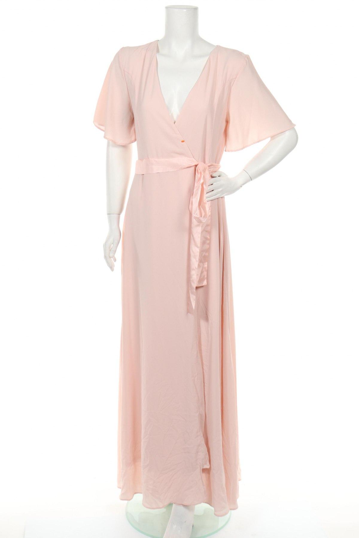 Рокля Tfnc London, Размер L, Цвят Розов, 97% полиестер, 3% еластан, Цена 26,56лв.