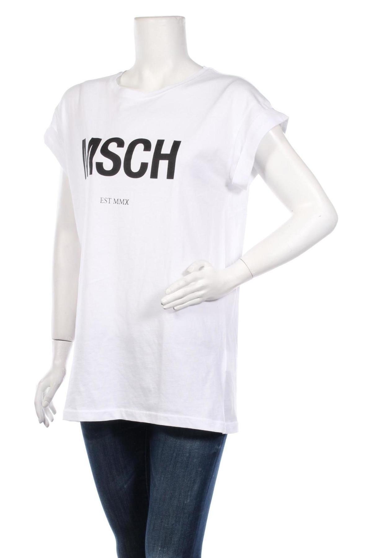 Туника MSCH, Размер S, Цвят Бял, Памук, Цена 28,42лв.