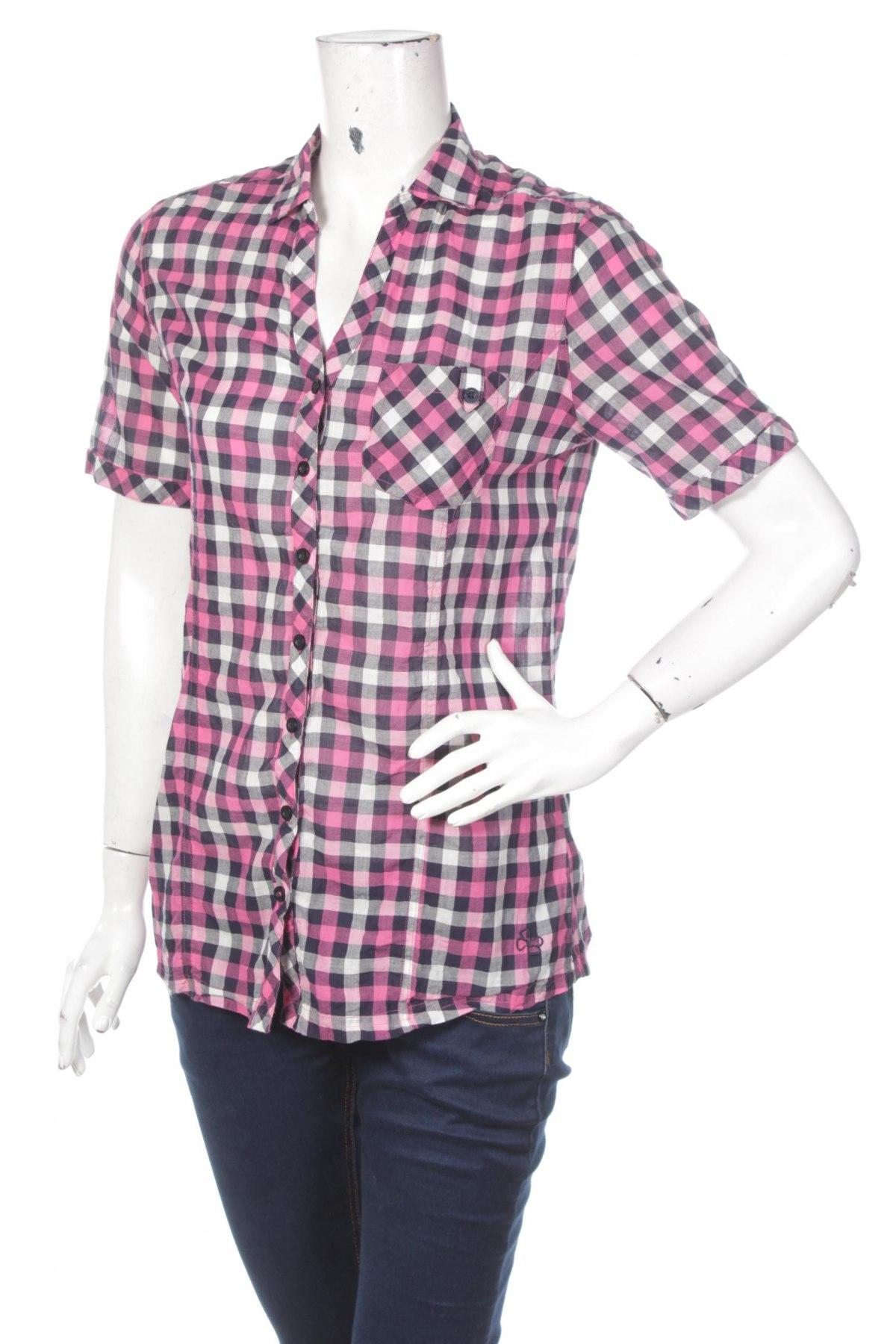 Γυναικείο πουκάμισο Zab Company, Μέγεθος S, Χρώμα Πολύχρωμο, Βαμβάκι, Τιμή 8,66€