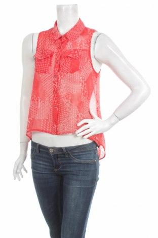 Γυναικείο πουκάμισο Forever 21, Μέγεθος S, Χρώμα Κόκκινο, 100% πολυεστέρας, Τιμή 9,28€