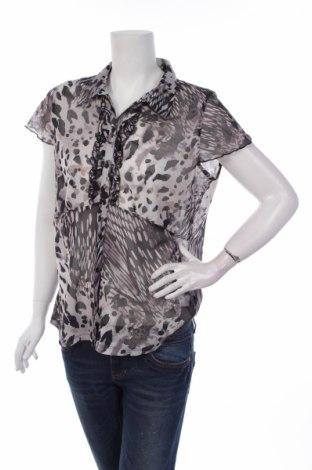 Γυναικείο πουκάμισο Gina Laura, Μέγεθος L, Χρώμα Γκρί, 100% πολυεστέρας, Τιμή 1,59€