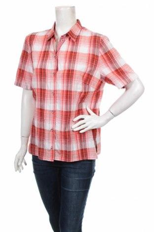 Дамска риза Lebek, Размер L, Цвят Многоцветен, 56% памук, 44% полиестер, Цена 6,00лв.