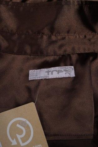 Γυναικείο πουκάμισο Zara Trafaluc, Μέγεθος M, Χρώμα Καφέ, 97% πολυεστέρας, 3% ελαστάνη, Τιμή 13,61€