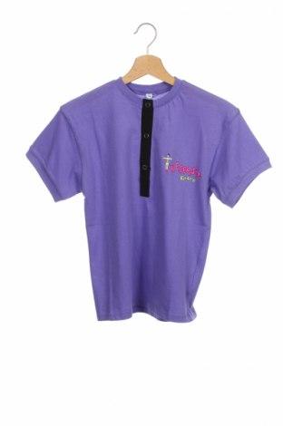Детска блуза, Размер 11-12y/ 152-158 см, Цвят Лилав, Памук, Цена 6,30лв.