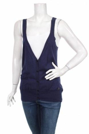Γυναικεία ζακέτα Ferrante, Μέγεθος M, Χρώμα Μπλέ, Βαμβάκι, Τιμή 8,00€