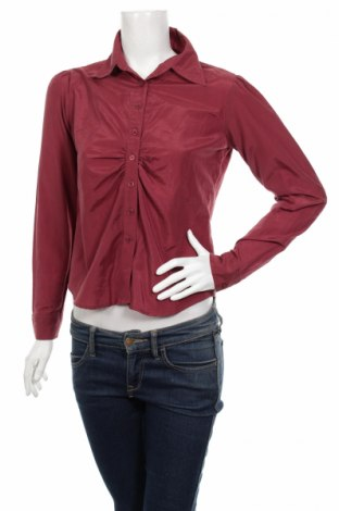 Дамска риза Tex, Размер M, Цвят Червен, 54% памук, 46% полиамид, Цена 6,80лв.