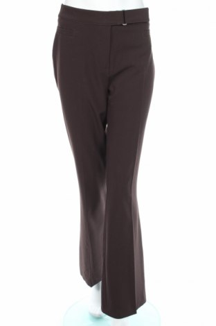 Дамски панталон Anna Montana, Размер L, Цвят Кафяв, 92% полиестер, 8% еластан, Цена 14,50лв.