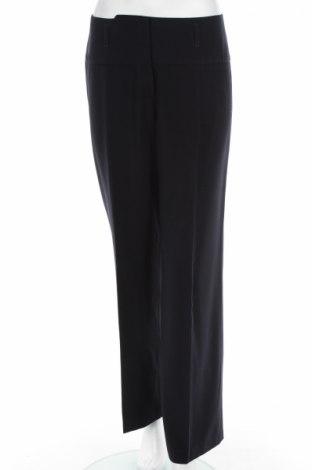 Дамски панталон Un Deux Trois, Размер S, Цвят Син, 89% полиестер, 11% полиуретан, Цена 12,20лв.
