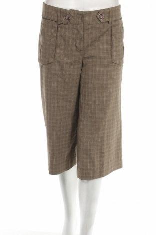 Дамски панталон Vero Moda, Размер M, Цвят Кафяв, 48% полиестер, 47% вискоза, 5% еластан, Цена 7,53лв.