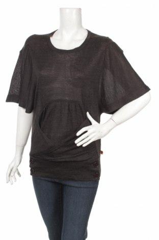 Дамски пуловер Object, Размер M, Цвят Черен, 30% вълна, 70% акрил, Цена 3,00лв.