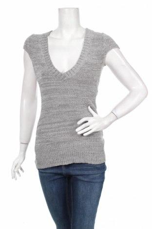 Дамски пуловер Promod, Размер M, Цвят Сив, 60% вискоза, 40% полиестер, Цена 9,00лв.