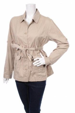 Дамски шлифер Motherhood, Размер M, Цвят Бежов, 98% памук, 2% еластан, Цена 12,66лв.