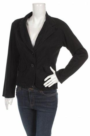 Дамско сако, Размер L, Цвят Черен, 95% памук, 5% еластан, Цена 7,80лв.