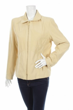 Дамско яке, Размер XL, Цвят Бежов, 88% полиестер, 12% полиамид, Цена 13,20лв.