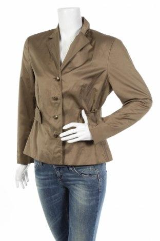 Дамско яке, Размер L, Цвят Зелен, 66% полиестер, 34% памук, Цена 13,40лв.