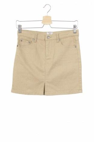 Παιδική φούστα Amichi, Μέγεθος 11-12y/ 152-158 εκ., Χρώμα  Μπέζ, 98% βαμβάκι, 2% ελαστάνη, Τιμή 6,46€