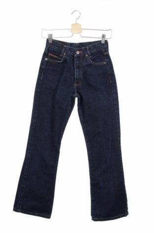 Детски дънки, Размер 14-15y/ 168-170 см, Цвят Син, Памук, Цена 8,80лв.