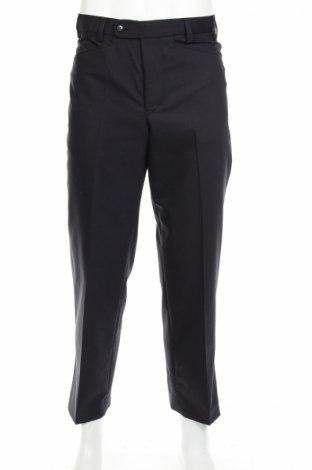 Мъжки панталон, Размер S, Цвят Син, 50% полиестер, 41% вълна, 7% полиамид, 2% еластан, Цена 12,40лв.
