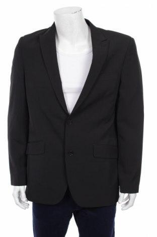 Мъжко сако Angelo Litrico, Размер L, Цвят Черен, 94% полиестер, 6% еластан, Цена 3,00лв.