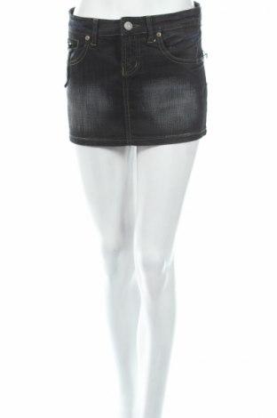 Φούστα Diverse, Μέγεθος S, Χρώμα Μαύρο, 97% βαμβάκι, 3% ελαστάνη, Τιμή 5,44€
