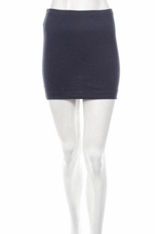 Пола H&M, Размер XS, Цвят Син, 95% памук, 5% еластан, Цена 7,36лв.