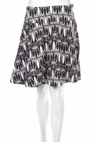 Пола H&M, Размер M, Цвят Бял, Лен, Цена 7,36лв.