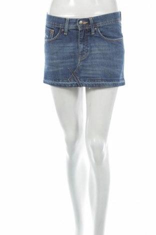 Φούστα H&M, Μέγεθος S, Χρώμα Μπλέ, 98% βαμβάκι, 2% ελαστάνη, Τιμή 5,78€
