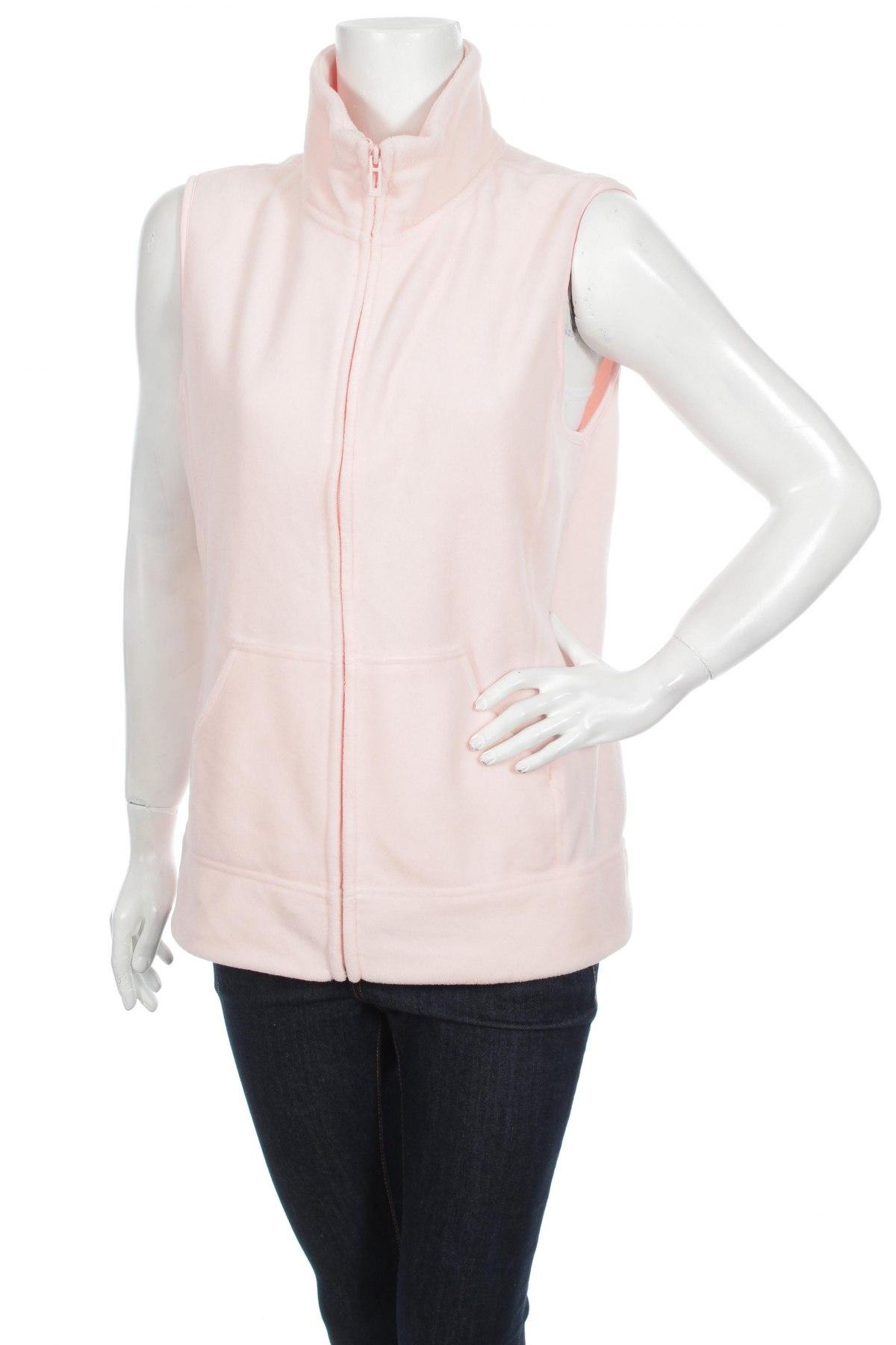Дамски поларен елек C&A, Размер M, Цвят Розов, 100% полиестер, Цена 29,90лв.
