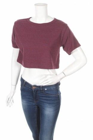 Дамска блуза American Apparel, Размер M, Цвят Червен, 50% полиестер, 25% памук, 25% вискоза, Цена 13,30лв.