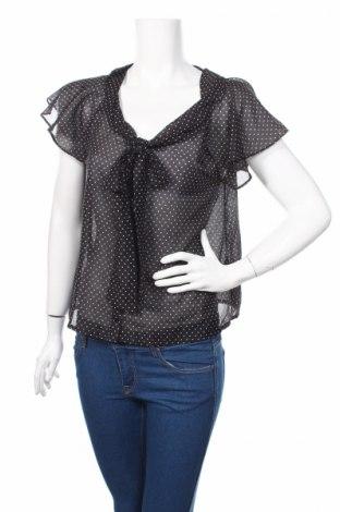 Дамска блуза H&M Divided, Размер M, Цвят Черен, Полиестер, Цена 5,72лв.