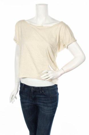 Дамска блуза Ltb, Размер L, Цвят Екрю, Памук, Цена 23,04лв.