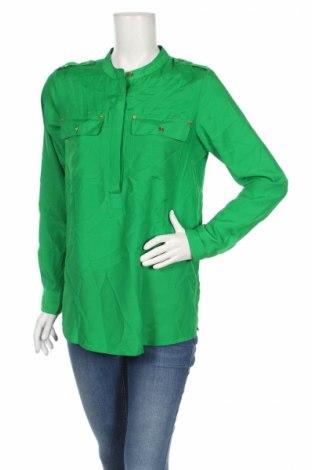 Дамска блуза Michael Kors, Размер M, Цвят Зелен, Полиестер, Цена 72,62лв.