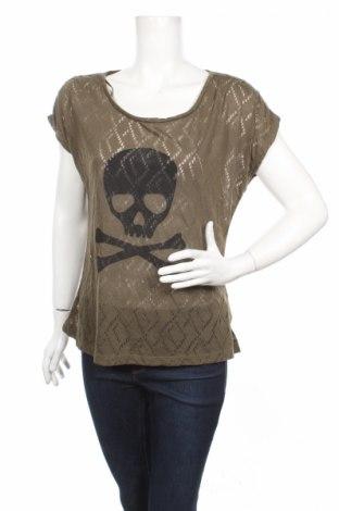 Γυναικεία μπλούζα Vert De Rage, Μέγεθος L, Χρώμα Πράσινο, Πολυεστέρας, Τιμή 2,27€