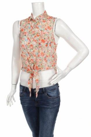 Γυναικείο πουκάμισο New Look, Μέγεθος S, Χρώμα Πολύχρωμο, Πολυεστέρας, Τιμή 2,71€