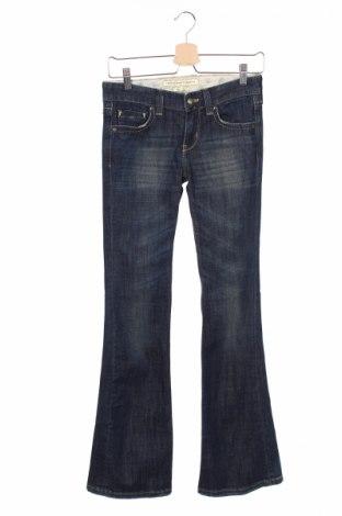 Дамски дънки French Connection, Размер XS, Цвят Син, 98% памук, 2% еластан, Цена 8,00лв.