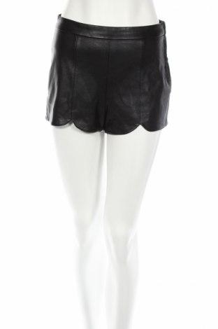 Дамски къс кожен панталон