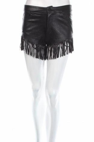 Dámske krátke kožené nohavice  Paccio